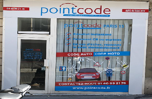 Pointcode Paris 15
